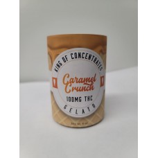 KOC Gelato Carmel Crunch