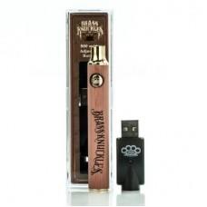 Brass Knuckles Battery - Wood